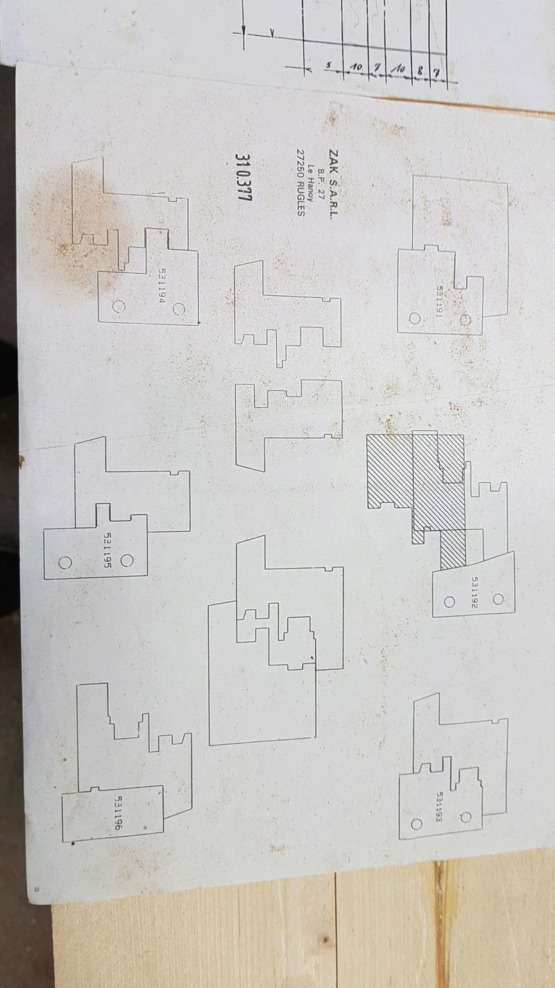 Extension de mon atelier. Les portes de la façade - Page 3 20180323