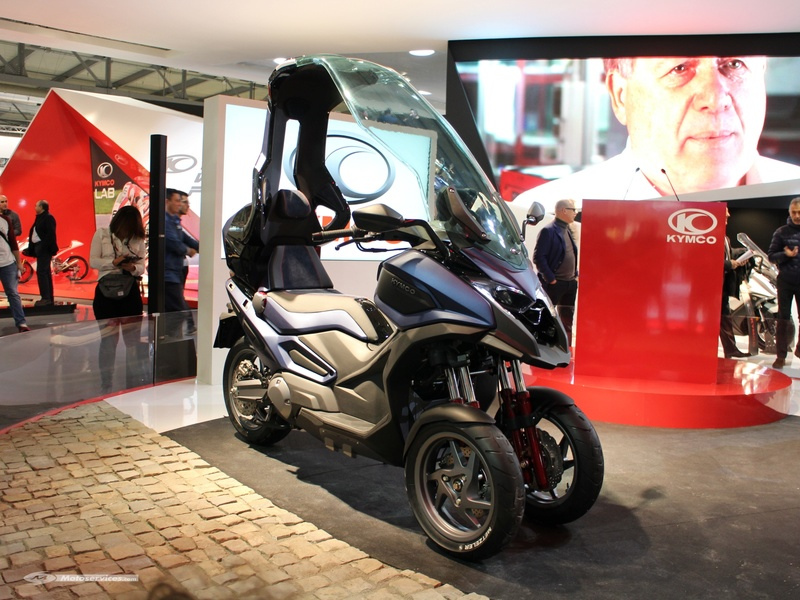 Kymco : un prototype 3R sera présenté à Milan. Kymco CV3 Kymco-10