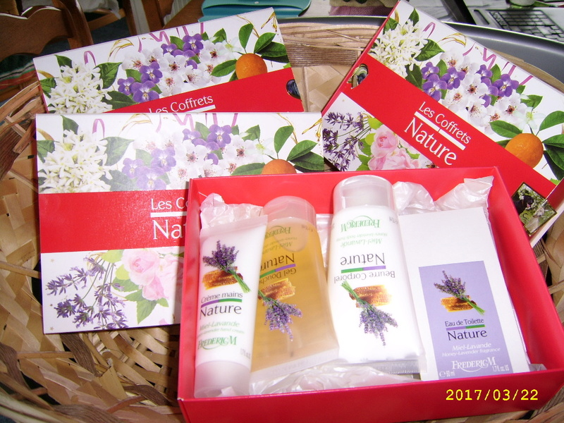 La Gamme Nature - coffrets cadeaux de produits pour le corps Ssa56810