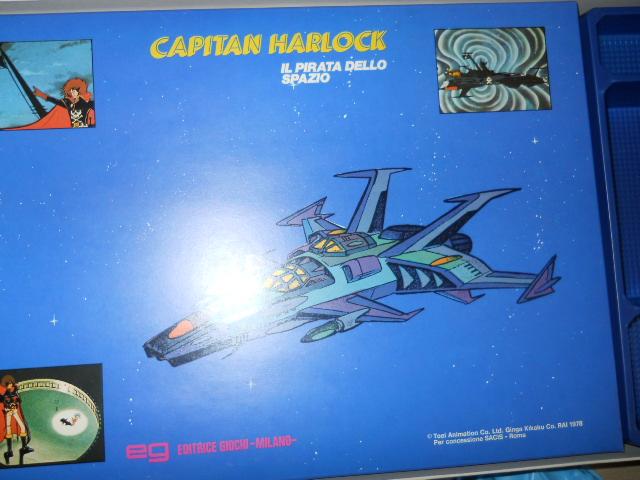 CAPITAN HARLOCK GIOCO DA TAVOLO Dscn4715