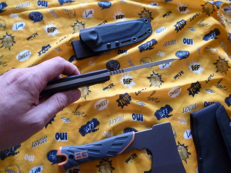 nouvelle acquisition : un couteau et une petite hachette 2018-011