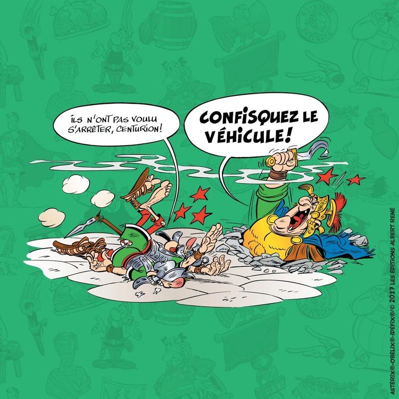 ASTÉRIX ET LA TRANSITALIQUE      Didier Conrad et Jean-Yves Ferri Dl8tcu10