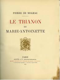Marie-Antoinette. Les livres de Pierre de Nolhac Tylych24