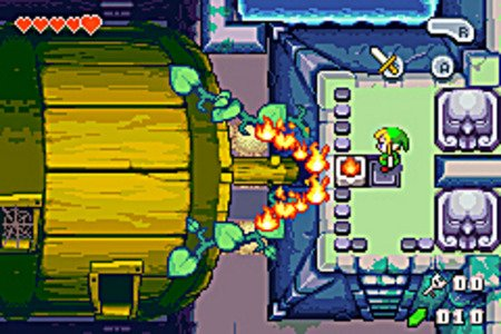 The Legend of Zelda : The Minish Cap (GBA) 51utpp10