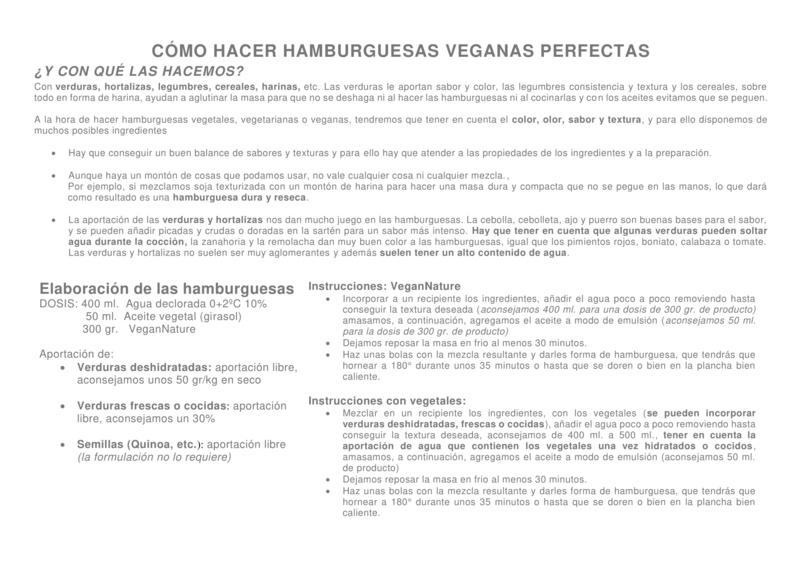 VEGAN NATURE  // BASES COMPLETAS PARA TUS RELLENOS  Instru10