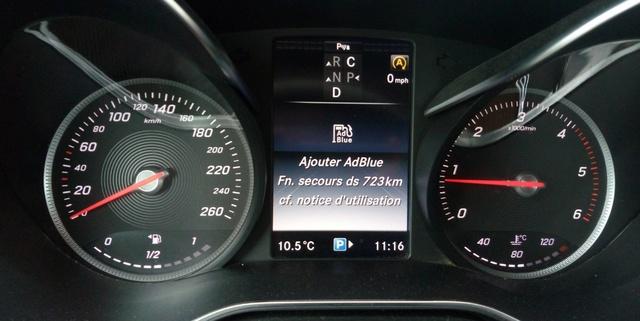 AdBlue : consommation, message d'alerte.... Adblue10