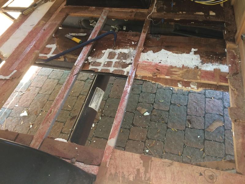 Roulotte T@B : Reconstruction du plancher Img_2328