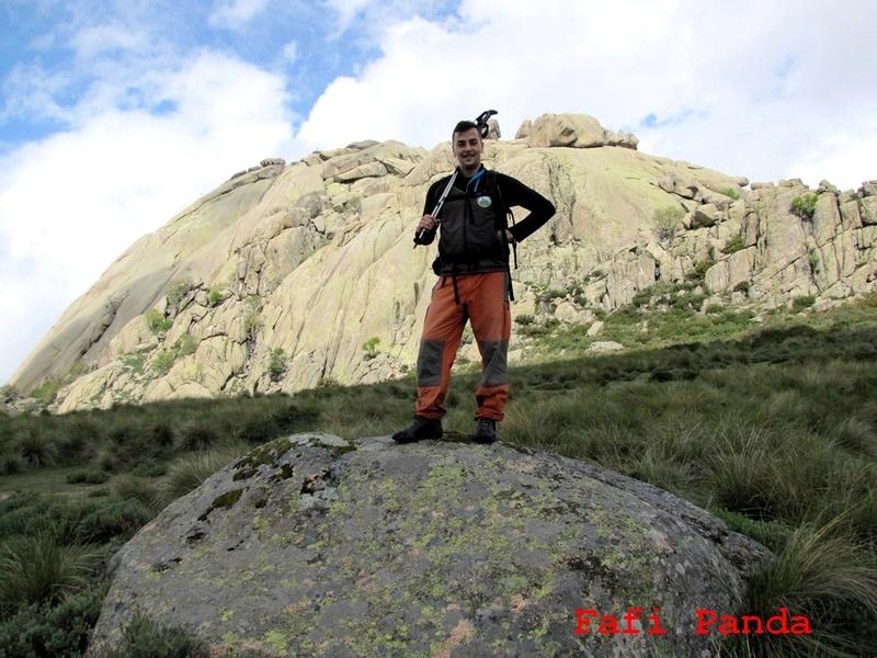 20180529 - LA PEDRIZA - EL YELMO con mi hijo EDUARDO 03930