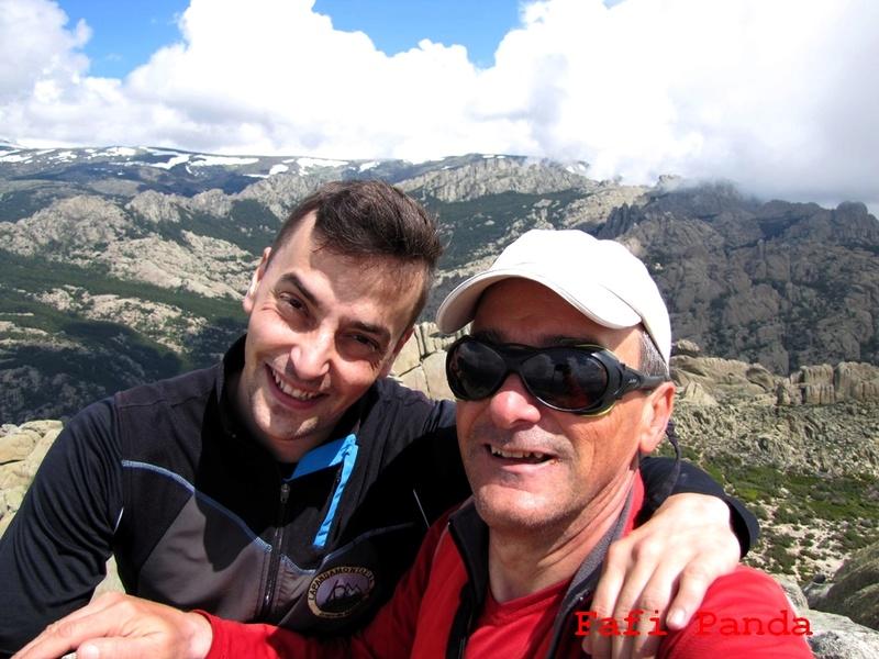 20180529 - LA PEDRIZA - EL YELMO con mi hijo EDUARDO 06824