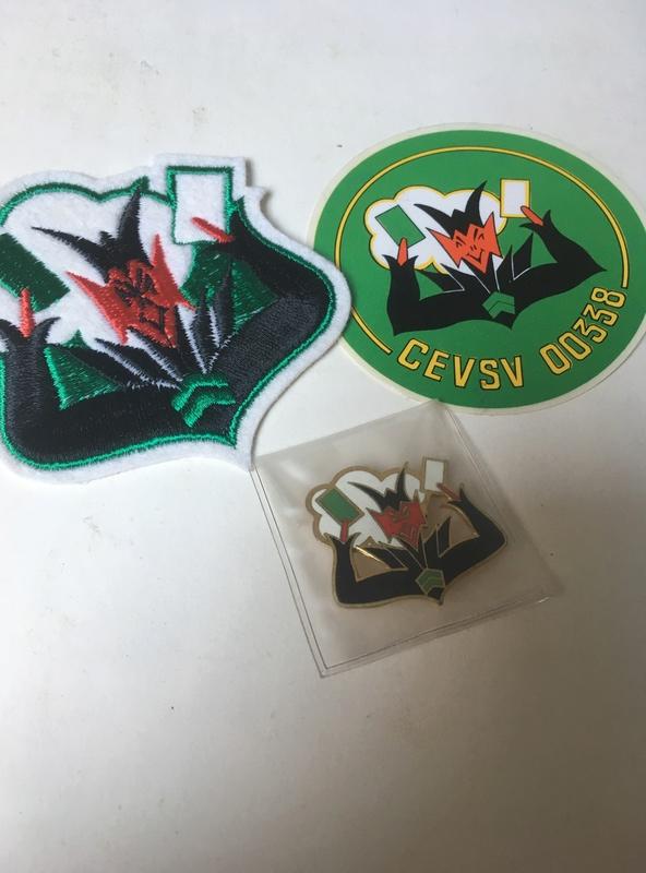 insignes/badges pilote FR escadron de chasse Badge110