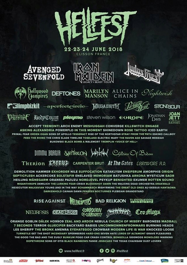 Hellfest 2018 - Page 4 25152010