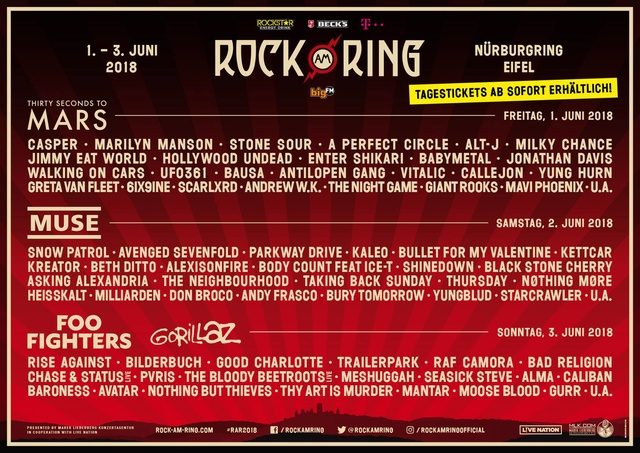 Rock am Ring / Rock im Park 2018 - Page 3 29177310