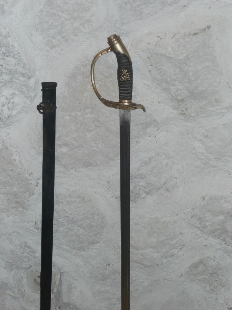 sabre prussien sous Guillaume II de Prusse  03310