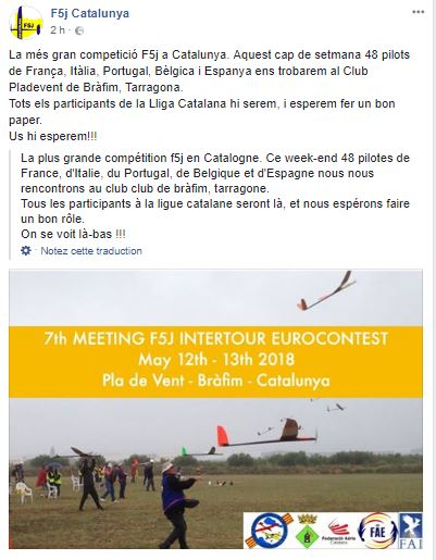7ème F5J FAI Intertour/Eurocontest - Pla de Vent (Catalunya) - Page 2 Brafim10