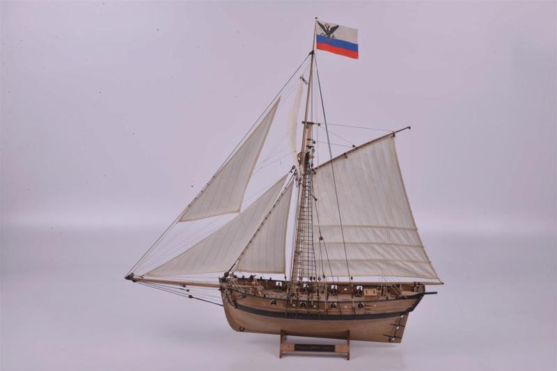 cotre «Avos» 1/72 (Master Korabel) 1806 Bdee4f10