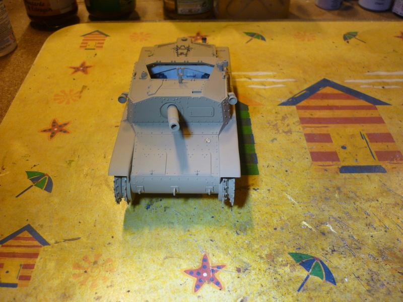 Tunisie 1943: Semovente M40 Tamiya + Camionetta AS 42 Sahariana Italeri + personnages et dromadaires Verlinden 1/35 - Page 5 P1080523