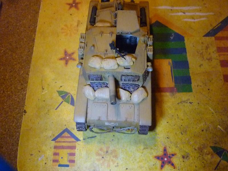 Tunisie 1943: Semovente M40 Tamiya + Camionetta AS 42 Sahariana Italeri + personnages et dromadaires Verlinden 1/35 - Page 6 P1080712