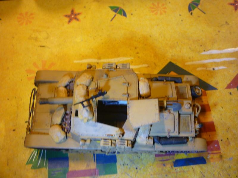 Tunisie 1943: Semovente M40 Tamiya + Camionetta AS 42 Sahariana Italeri + personnages et dromadaires Verlinden 1/35 - Page 6 P1080717