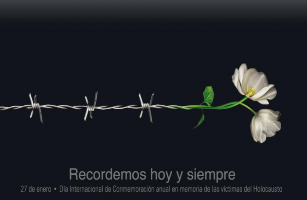 IOM A SHOÁ  / DÍA DEL RECORDATORIO DEL HOLOCAUSTO JUDÍO 3281010
