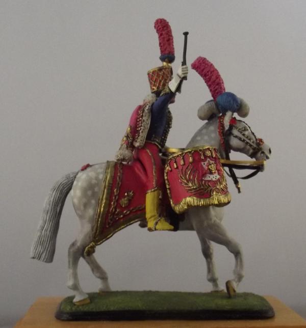 Kettle-Drummer of Horse Grenadiers, 1804 K800_186