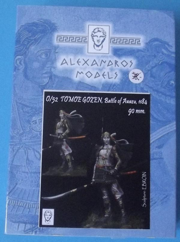 Tomoe Gozen, 90 mm, Alexandros Models K800_210