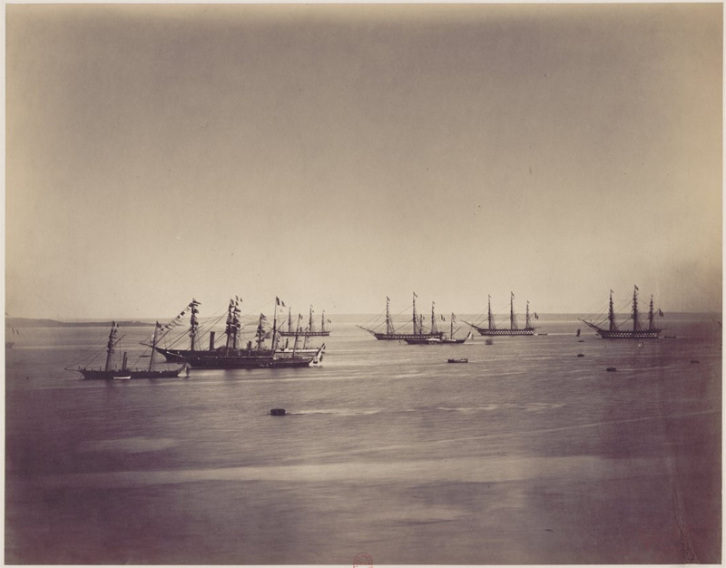 Cherbourg en 1858 Flotte10