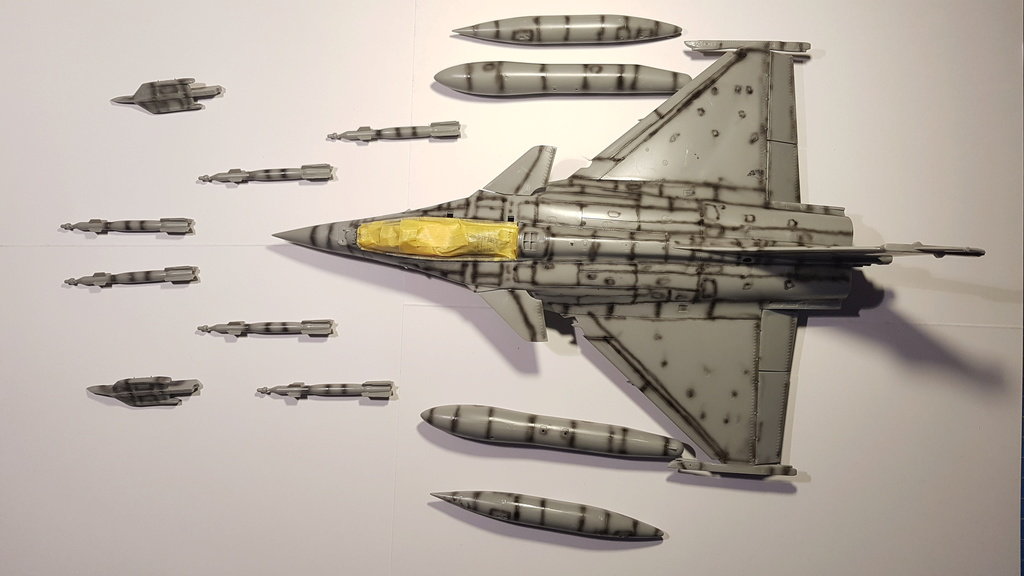 Rafale C 1/48 Revell - Page 3 20181228