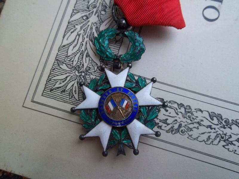 Cadre légion d' honneur du 176 ème d' infanterie  100_1161