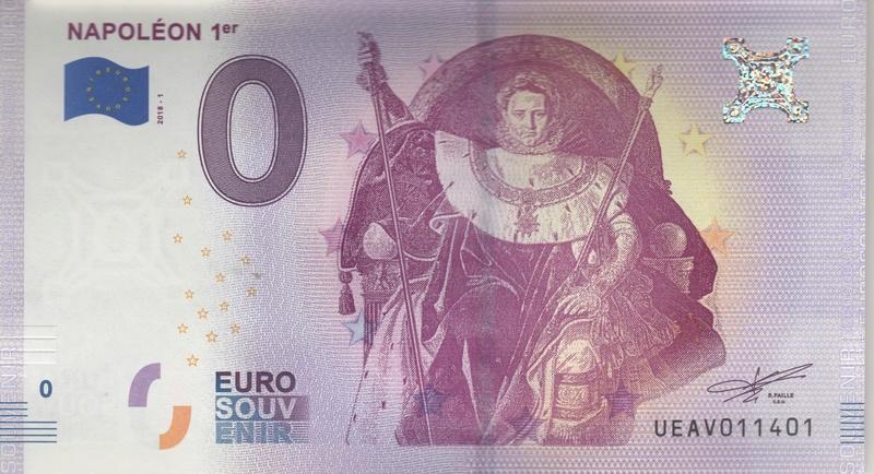 Billets 0 € Souvenirs  [Paris = 81] Numyri12
