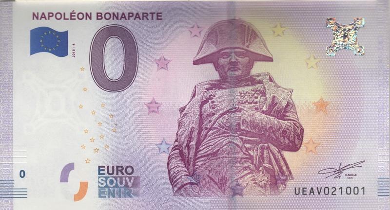 Billets 0 € Souvenirs  [Paris = 81] Numyri13