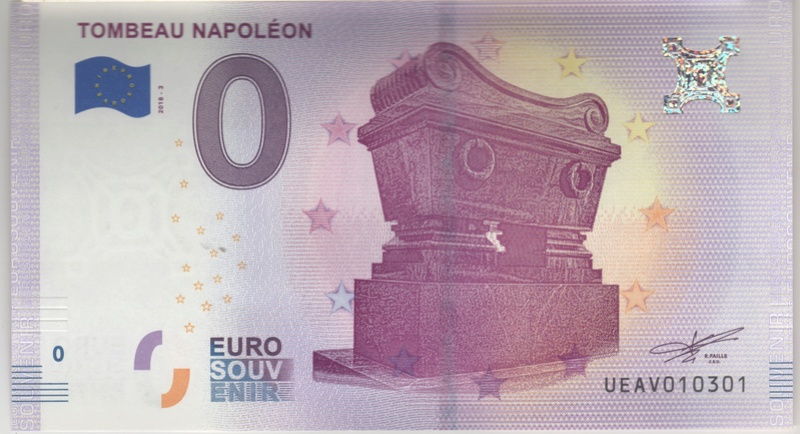 Billets 0 € Souvenirs  [Paris = 81] Numyri15
