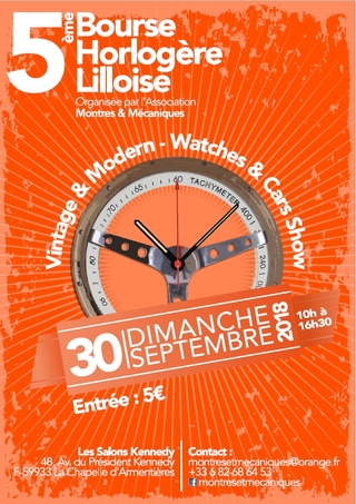 5ème Bourse Horlogère Internationale sur Lille le 30 septembre 2018 Flyer_11