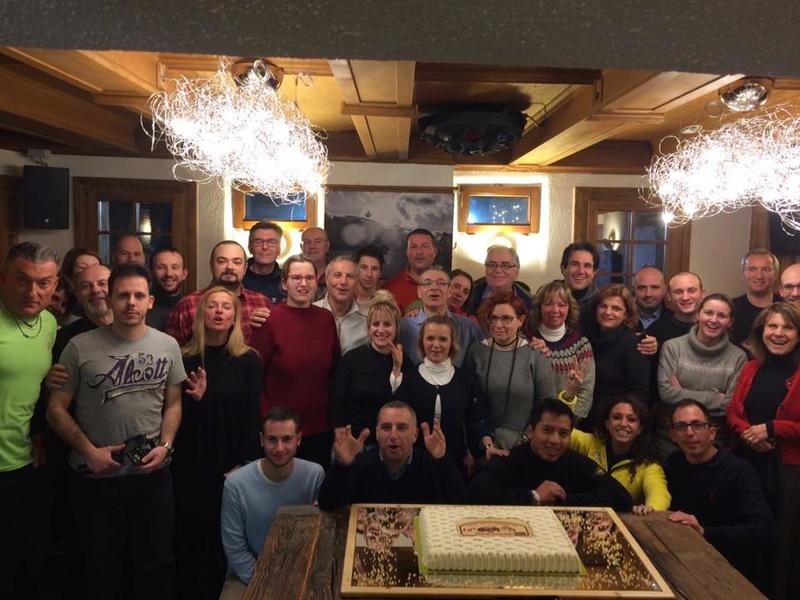 10° SnowRaduno Livigno 13-14 Gennaio 2018 Gruppo11