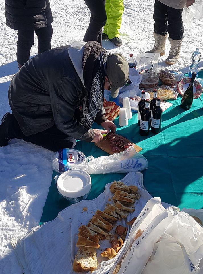 10° SnowRaduno Livigno 13-14 Gennaio 2018 Pranzo10