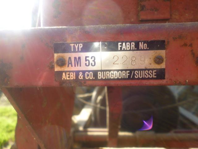 Aebi - (Recherche ) MOTOCULTEUR AEBI AM 80 Diesel P1020710