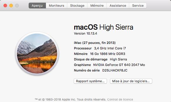 Mise a jour macOS High Sierra 10.13.4  Captur10