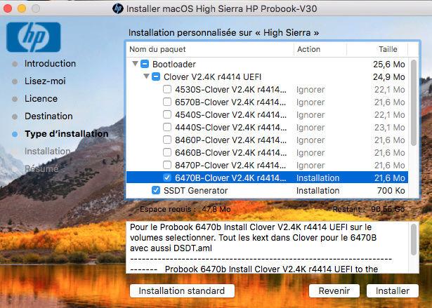 macOS High Sierra et macOS   Sierra HP Probook 4530S, 4440S, 4540S, 6460B, 6570B, 8460P, 8470p, 6470B,2570P, 9470M (UEFI) - Page 14 Captur14