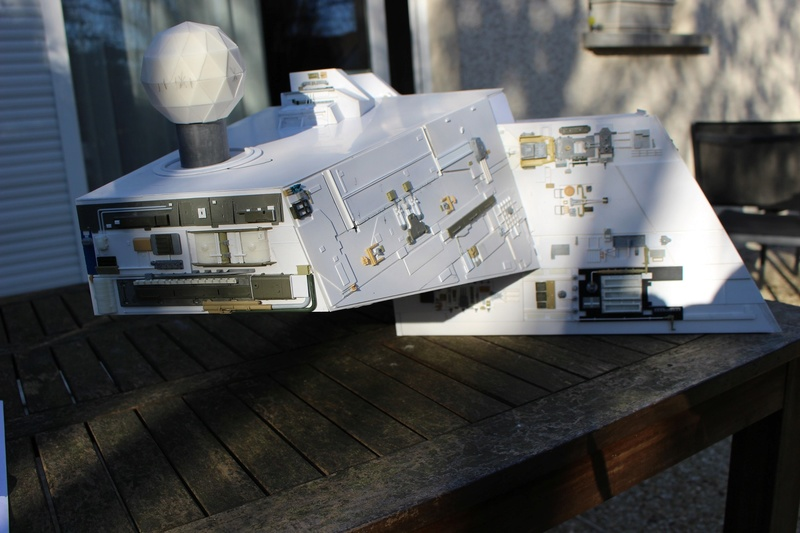 Star destroyer et Falcon Pont211
