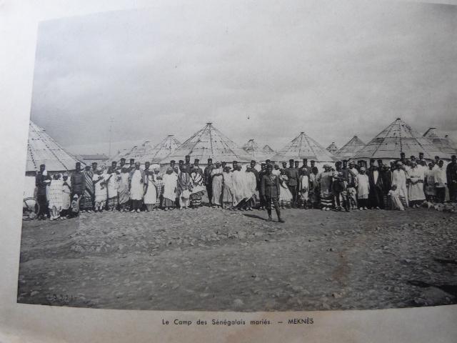 Livret Groupe Autonome d'artillerie coloniale du Maroc Meknes-Fes 1935 P1050317
