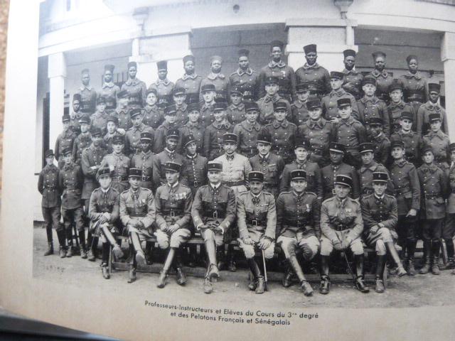 Livret Groupe Autonome d'artillerie coloniale du Maroc Meknes-Fes 1935 P1050318