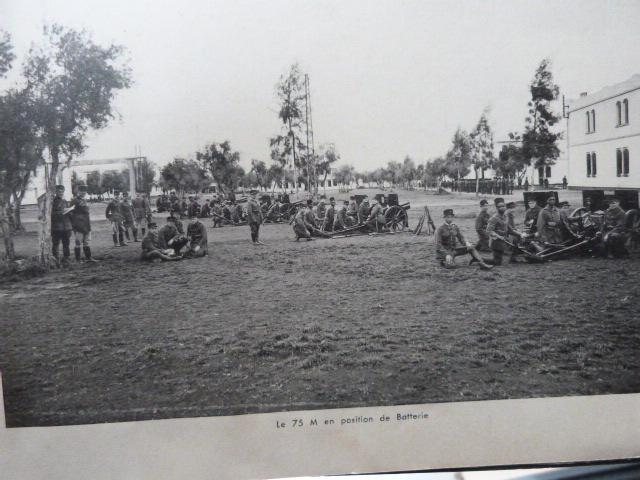 Livret Groupe Autonome d'artillerie coloniale du Maroc Meknes-Fes 1935 P1050320