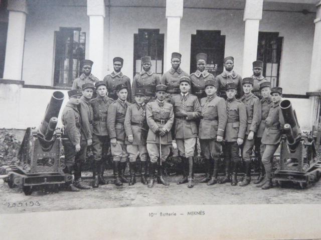Livret Groupe Autonome d'artillerie coloniale du Maroc Meknes-Fes 1935 P1050321