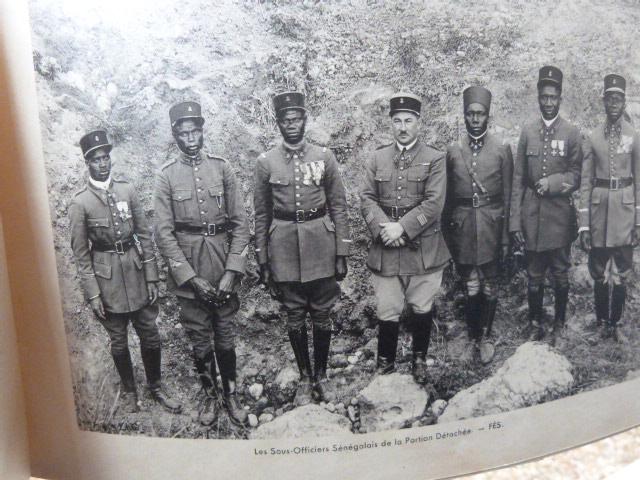 Livret Groupe Autonome d'artillerie coloniale du Maroc Meknes-Fes 1935 P1050322