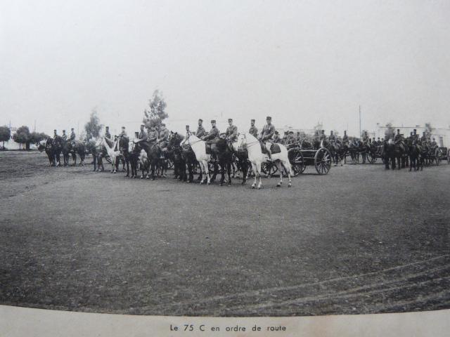 Livret Groupe Autonome d'artillerie coloniale du Maroc Meknes-Fes 1935 P1050323