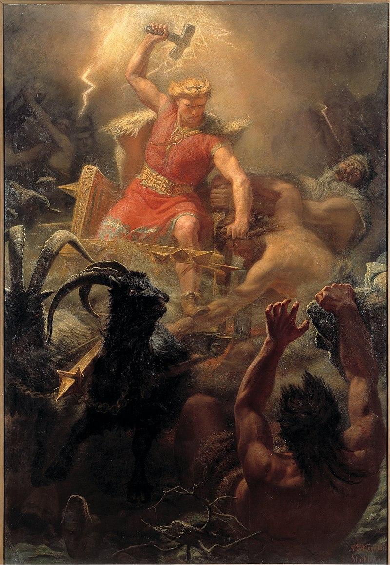 Mythologie Nordique Thor10