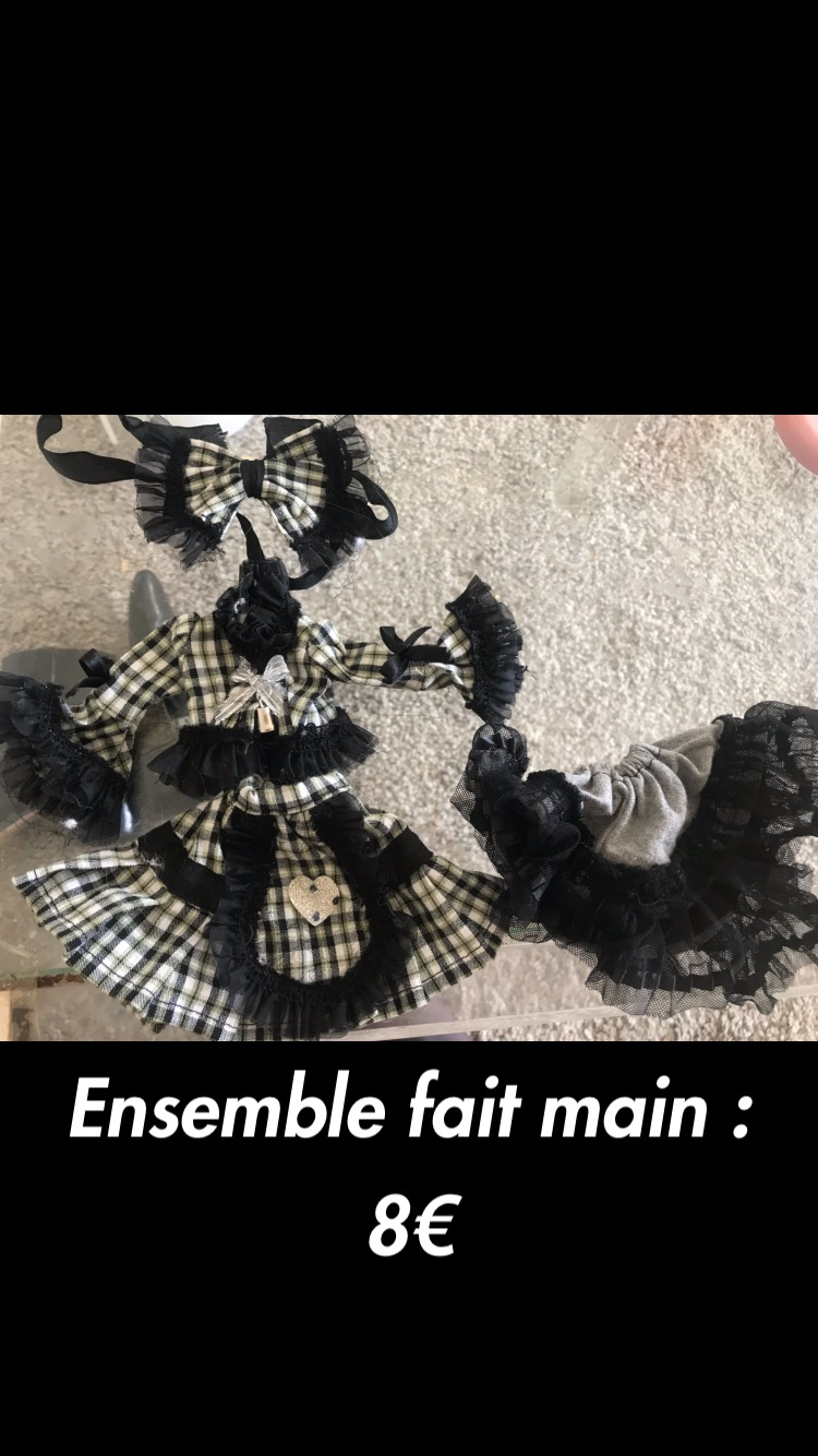 Vêtements PULLIP/ISUL : OUTFIT PAPIN, ENSEMBLE FAIT MAIN... 38c84610