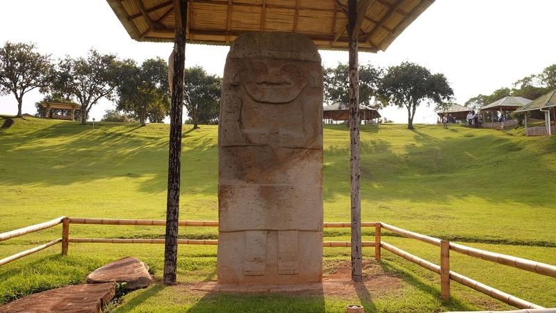 Le 10.02.2018 San Augustin (site classé au patrimoine mondial par l'UNESCO). Dscf4318