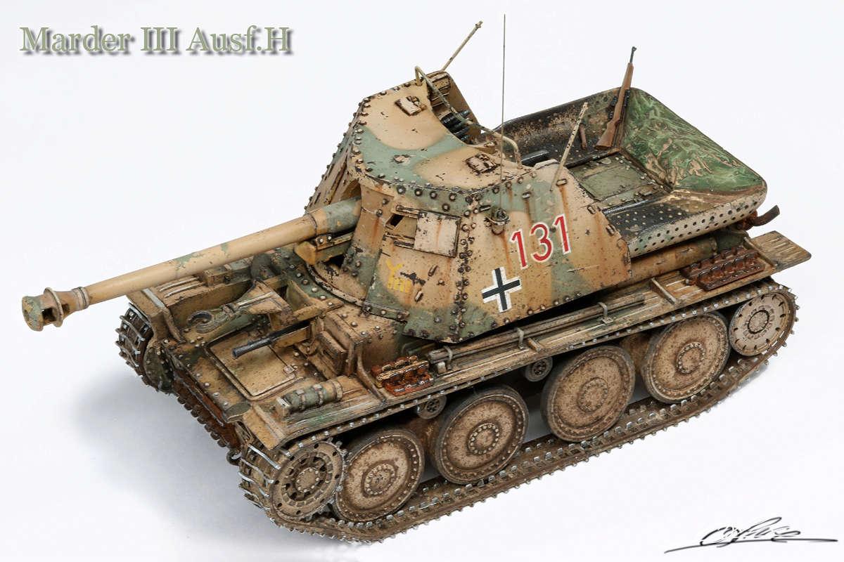 Marder III Ausf.H Master fighter 1/48 Marder10