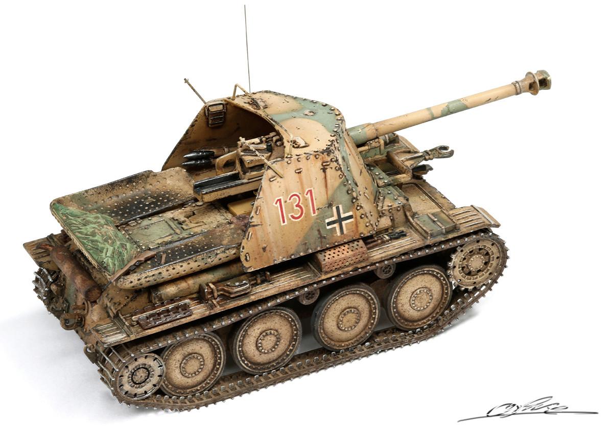 Marder III Ausf.H Master fighter 1/48 Marder11