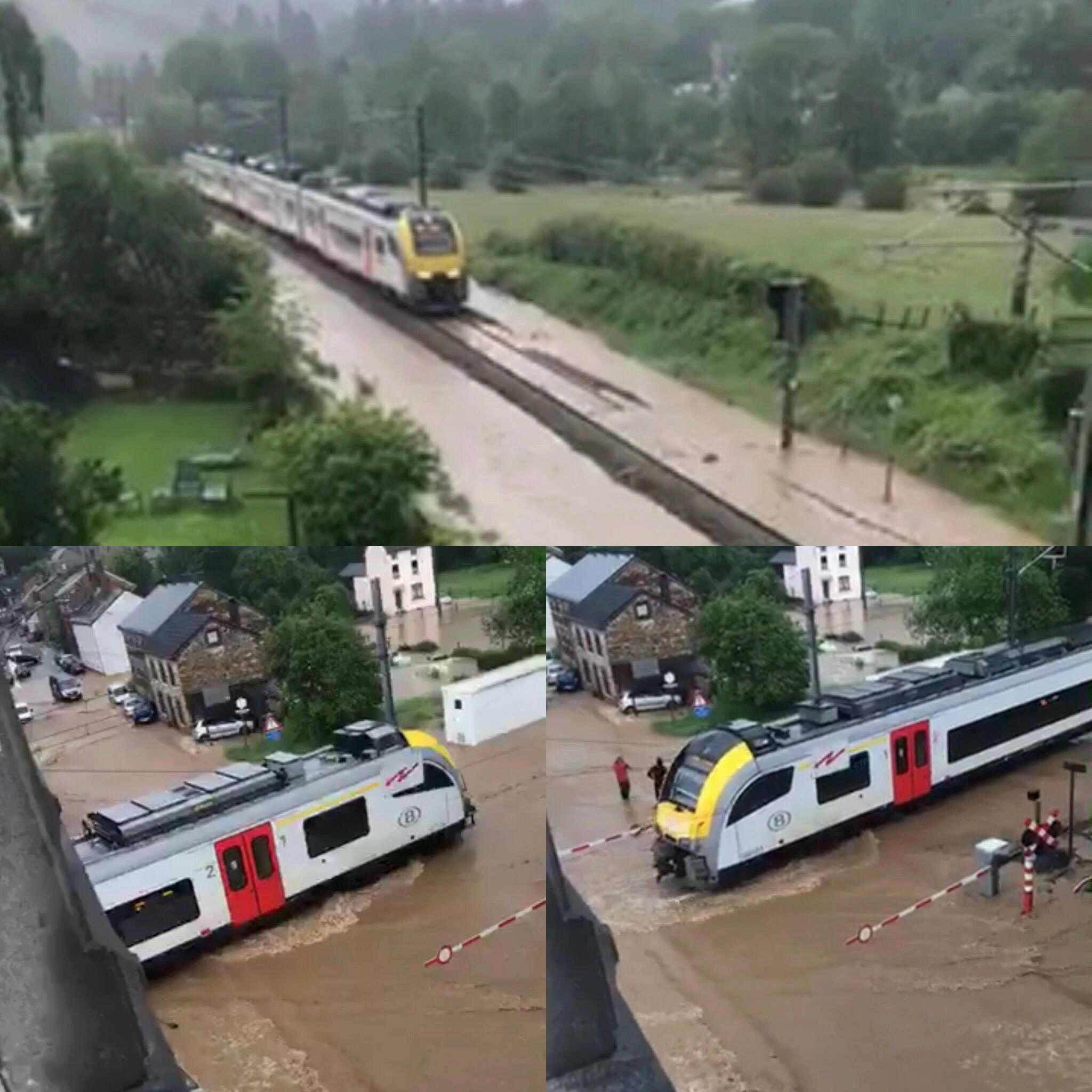 Inondations et chemin de fer 34124310